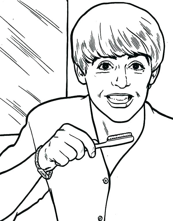 600x763 Dental Hygienist Coloring Pages Kids Coloring Free Dental Coloring