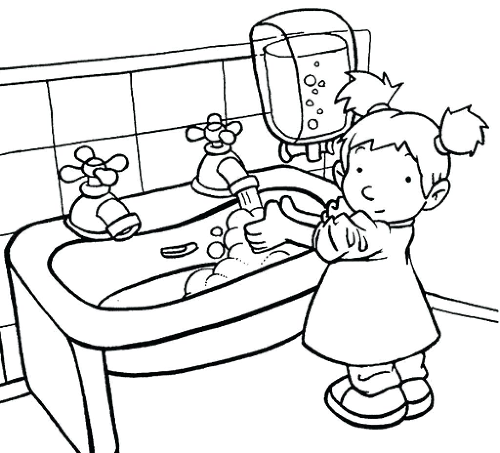 1024x928 Exclusive Design Handwashing Coloring Pages Cdc Hand Washing