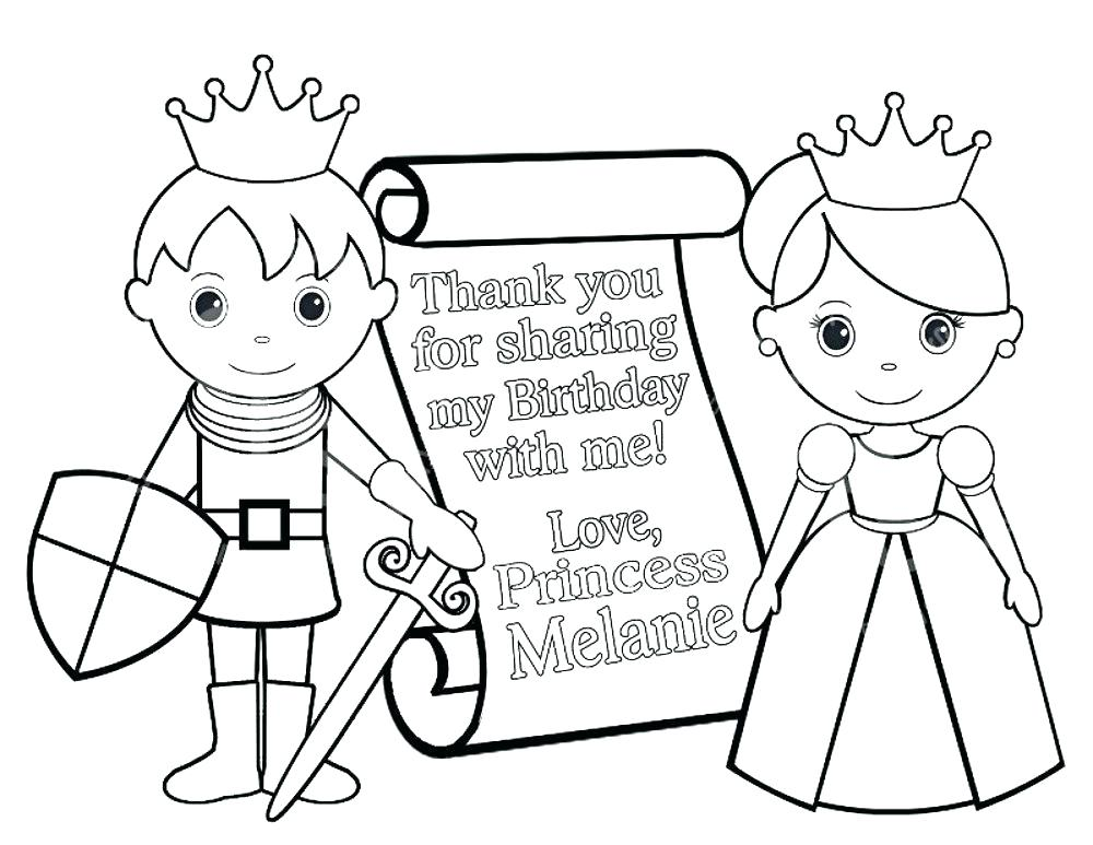 1000x773 Personalized Coloring Pages Prince Coloring Pages Personalized