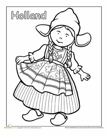 Peruvian Coloring Pages