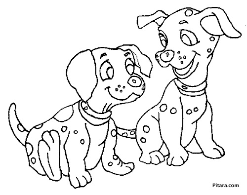 500x395 Domestic Animals Coloring Pages Pitara Kids Network