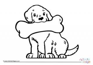 320x226 Pet Animal Colouring Pages