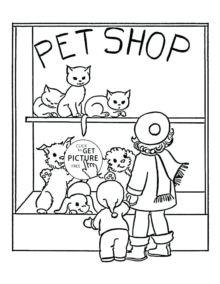 736x948 Pet Coloring Pages Pet Coloring Sheets For Preschoolers Wolf Pup