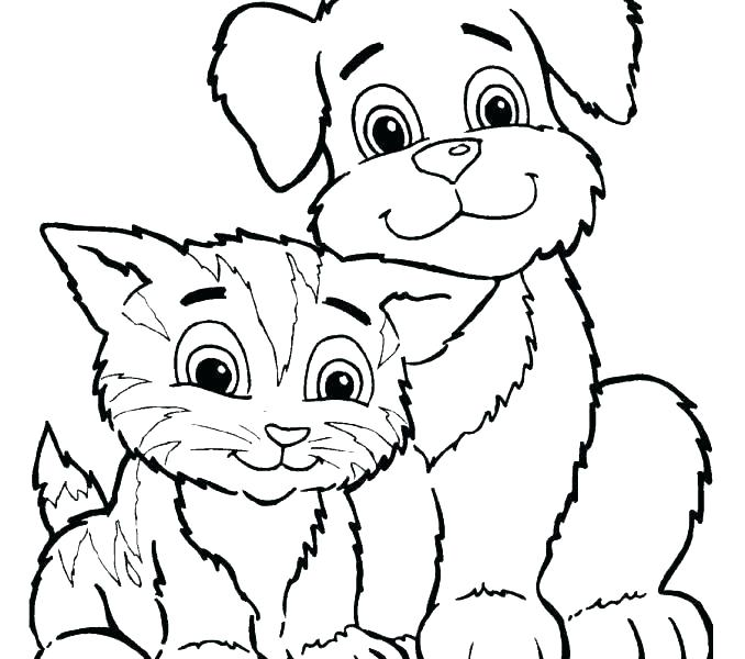678x600 Pet Coloring Pages Pets Coloring Page Create Your Own Party