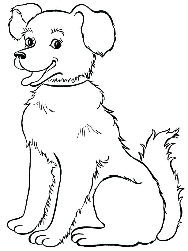 614x820 Cats And Dogs Coloring Pages Animal Color Page Beautiful Dog