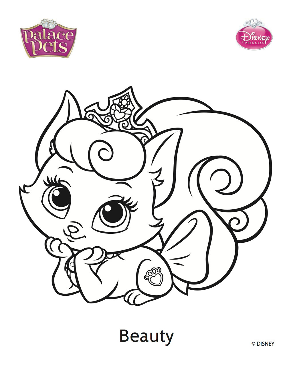 1024x1325 Palace Pet Coloring Pages