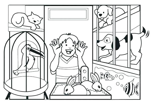 600x425 Pets Coloring Pages Palace Pets Coloring Pages With Kids N Fun