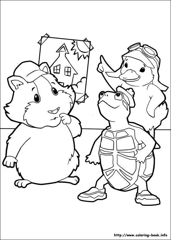 567x794 Wonder Pets Coloring Pages On Coloring
