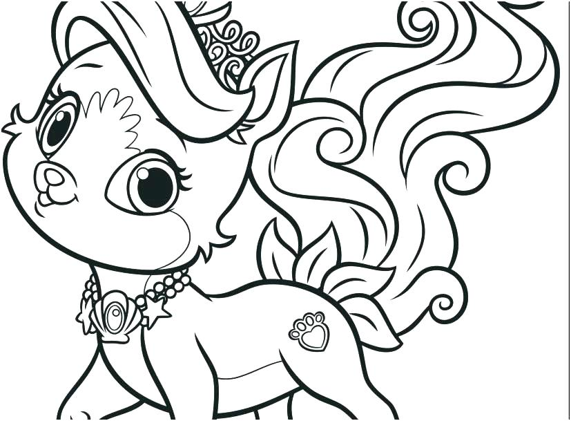 827x609 Coloring Pages Pets