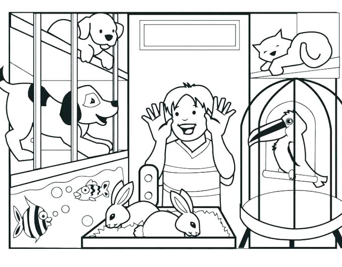 678x530 Palace Pets Coloring Pages Icontent