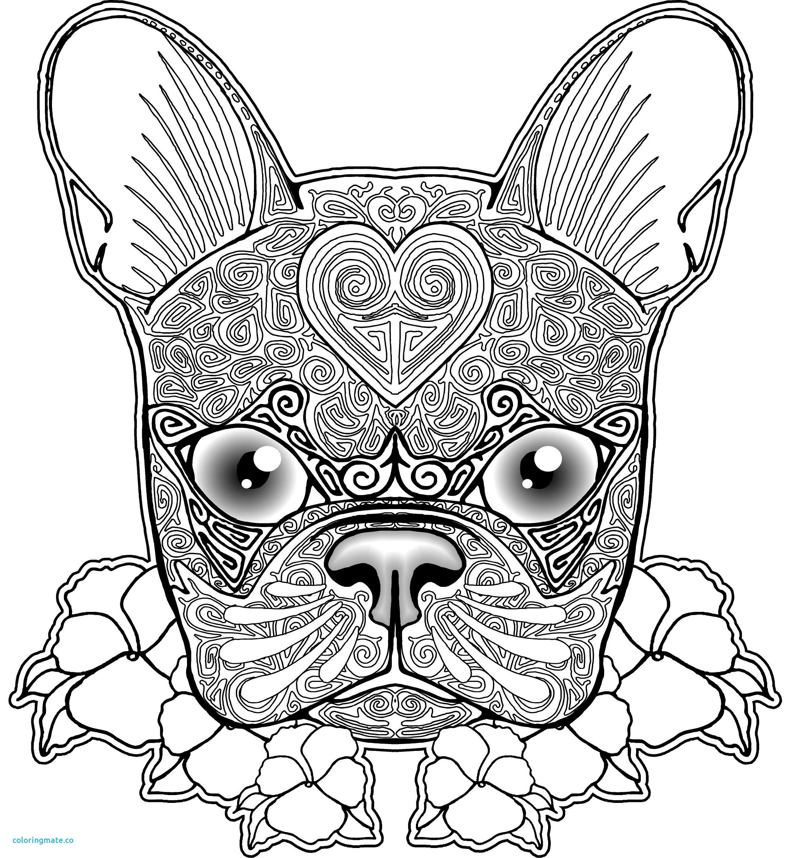 2516x2740 Fresh Dog Coloring Pages For Adults Luxury Dog Coloring Pages