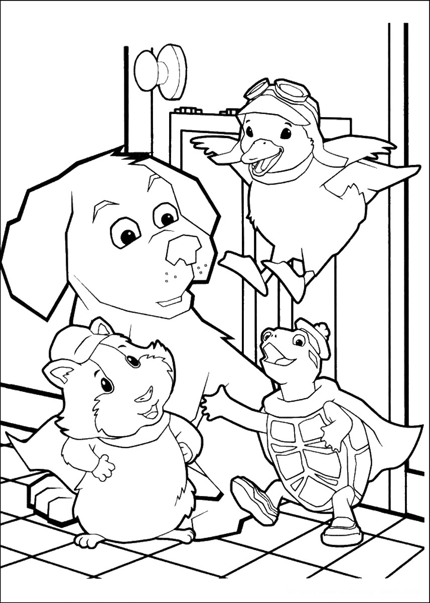 857x1200 Pet Coloring Pages Printable Pets