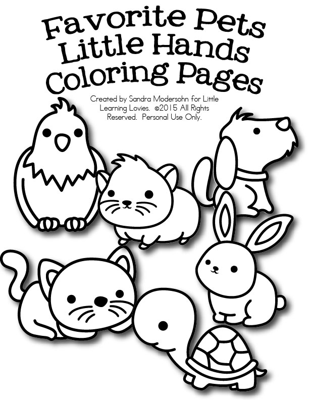 612x792 Pet Coloring Pages For Kids Dog Coloring Pages Printable