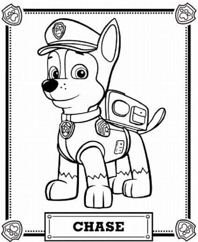 650x795 Paw Patrol Coloring Pages Coloring Pages Paw