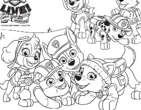 278x217 Paw Patrol Coloring Pages