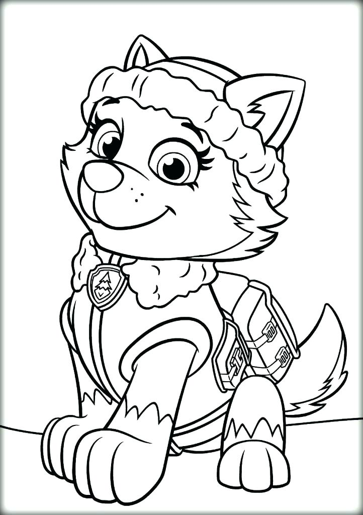 722x1024 Paw Patrol Coloring Pages Or Paw Patrol Coloring Pages To Print