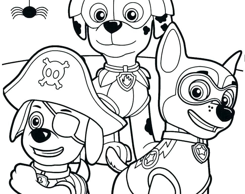 970x768 Paw Patrol Free Coloring Pages Paw Patrol Coloring Pages Printable