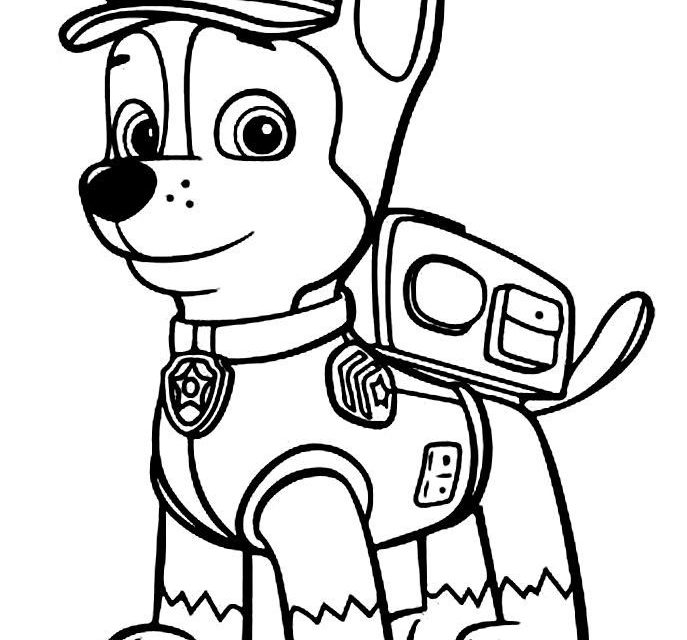 687x640 Print Paw Patrol Coloring Pages And Pictures To Colour