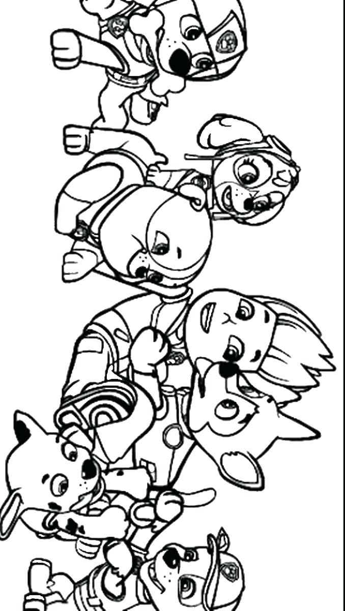 678x1200 Coloring Pages Color Pages Paw Patrol Coloring Photo Printable