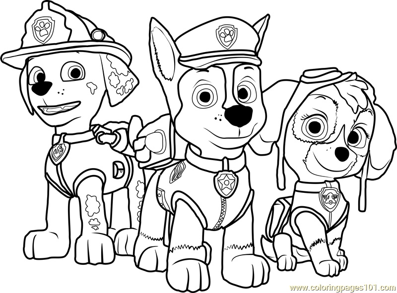 800x591 Coloring Pages Paw Patrol Printable Coloring Pages