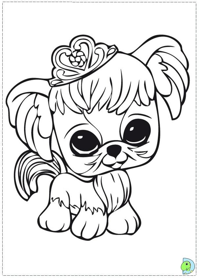 691x960 Littlest Pet Shop Coloring Pages