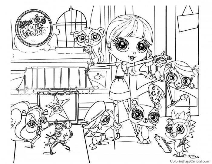 700x541 Littlest Pet Shop Coloring Page Coloring Page Central