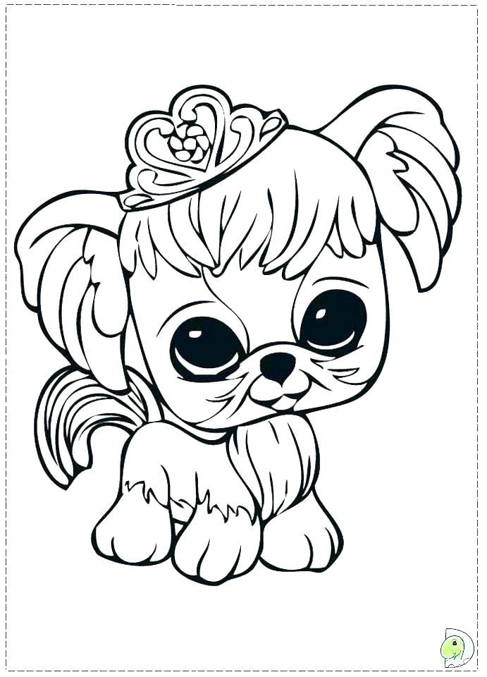 691x960 Littlest Pet Shop Coloring Pages Free Pet Shop Coloring Pages