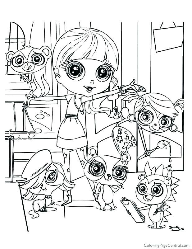 618x800 Littlest Pet Shop Coloring Pages Littlest Pet Shop Coloring Pages