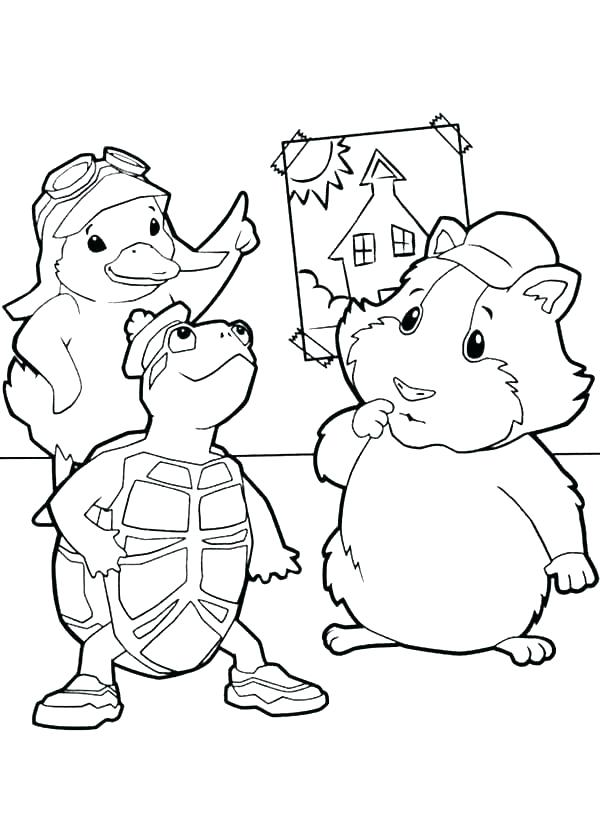 600x825 Store Coloring Page Coloring Pages Pets Dragon Color Wonder Pets