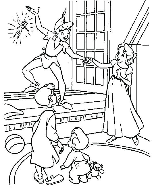 536x660 Peter Pan Coloring Pages Peter Cottontail Coloring Pages Peter Pan