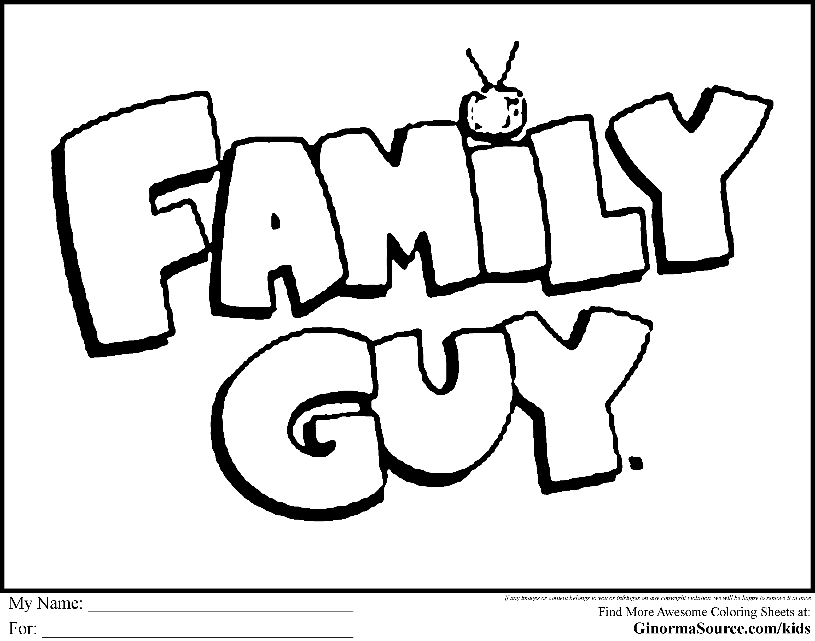 3120x2455 Drawing Of Peter Griffin Family Guy