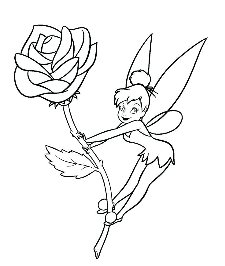 736x871 Tinker Bell Coloring Page Coloring Pages Free Coloring Pages Peter