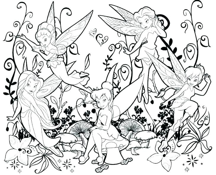 730x591 Tinkerbell Coloring Pages To Print Coloring Books Also Coloring