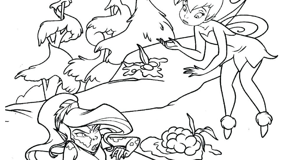 960x544 Peter Pan And Tinkerbell Coloring Pages