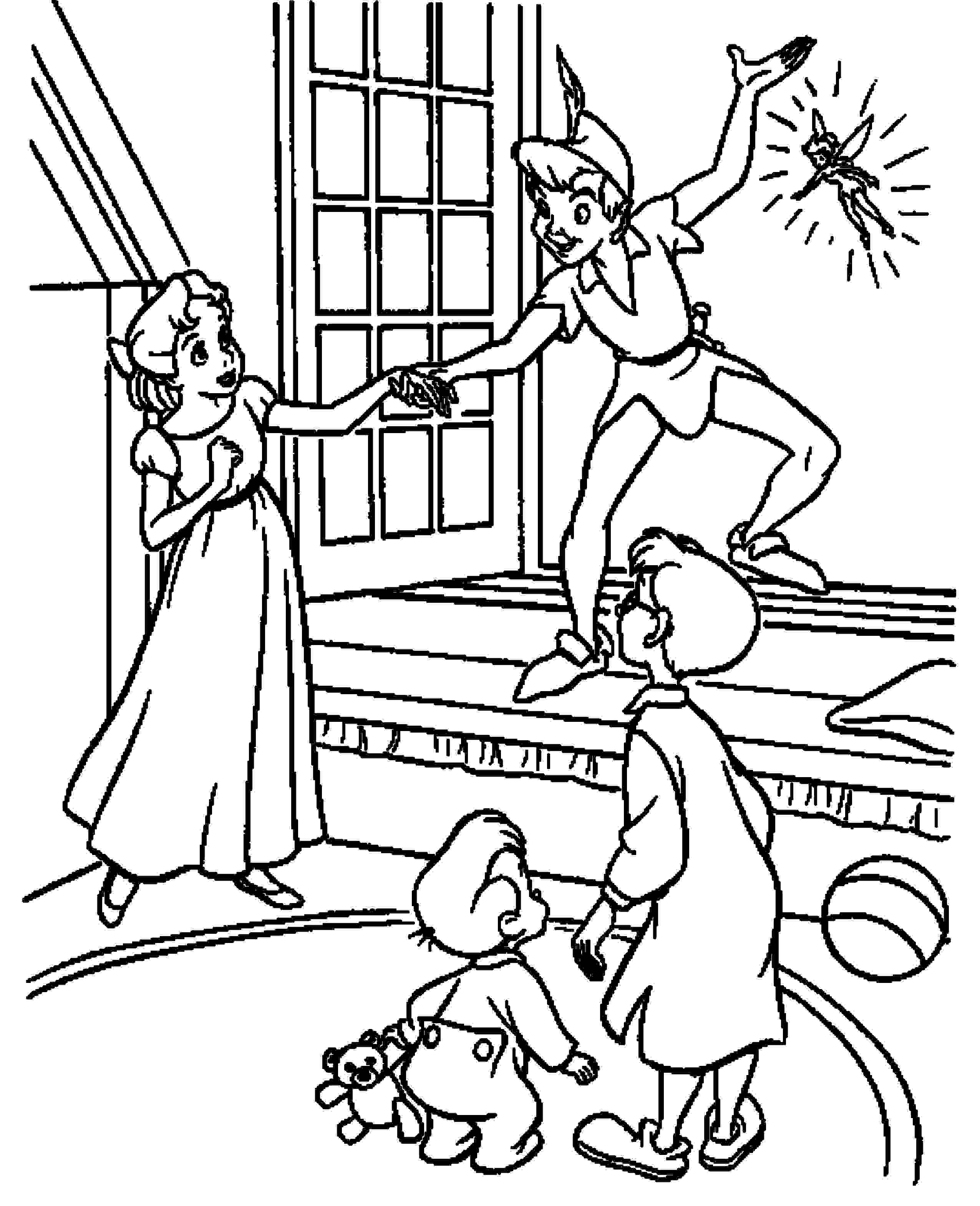 2551x3141 Print Download Fun Peter Pan Coloring Pages Downloaded For Free