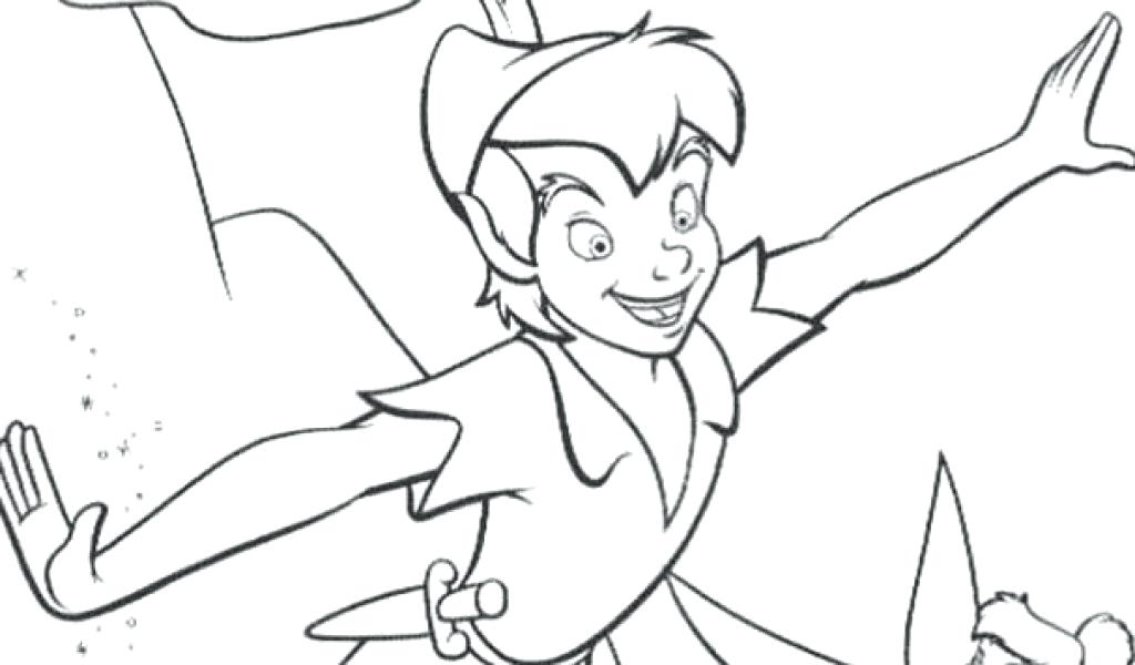 1024x600 Peter Pan Coloring Sheets Peter Pan N Coloring Page Peter Pan