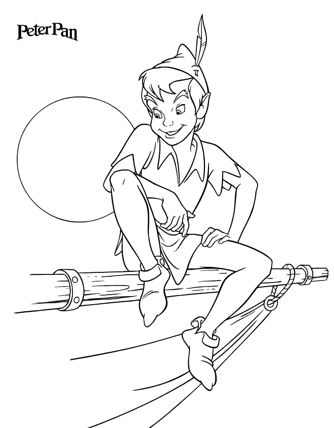 660x847 Peter Pan Coloring Pages To Download And Print For Free