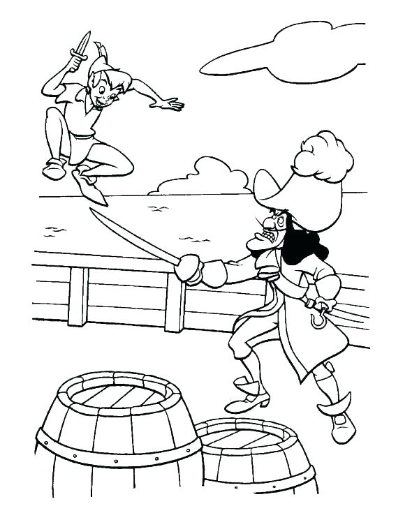 600x735 Peter Pan Coloring Pages Peter Pan Coloring Page Best Of Peter Pan
