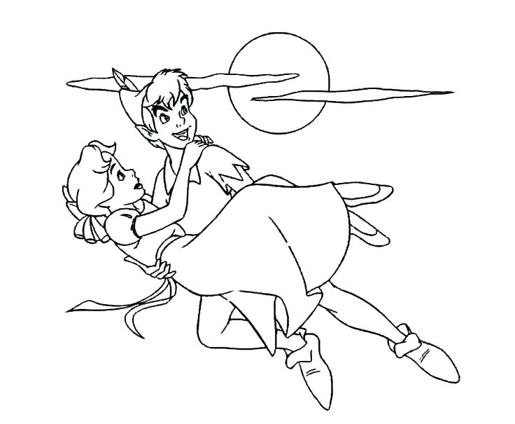 Peter Pan Coloring Pages Free at GetDrawings.com | Free for personal ...