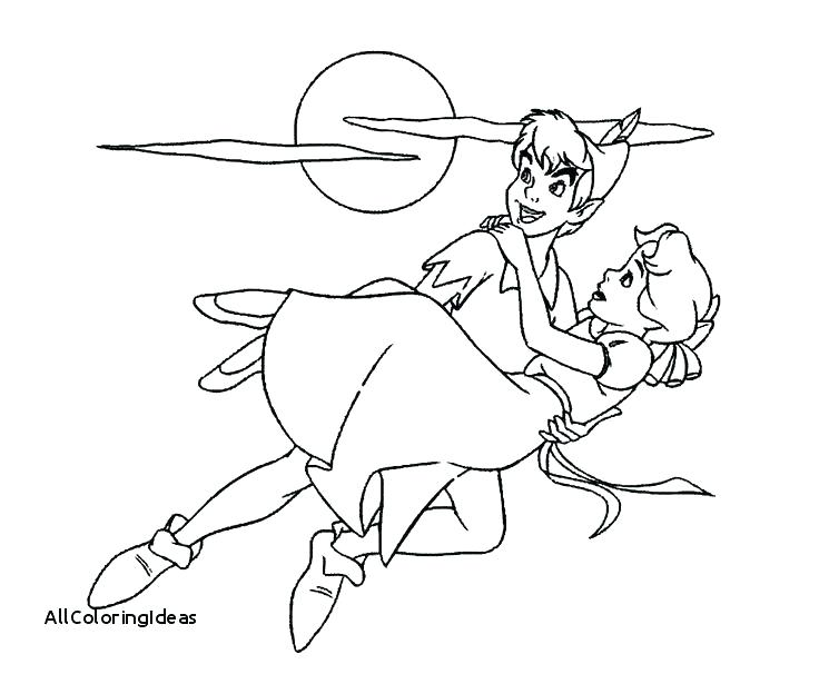 736x606 Peter Pan Coloring Page Peter Pan Colouring Pages Printable Update