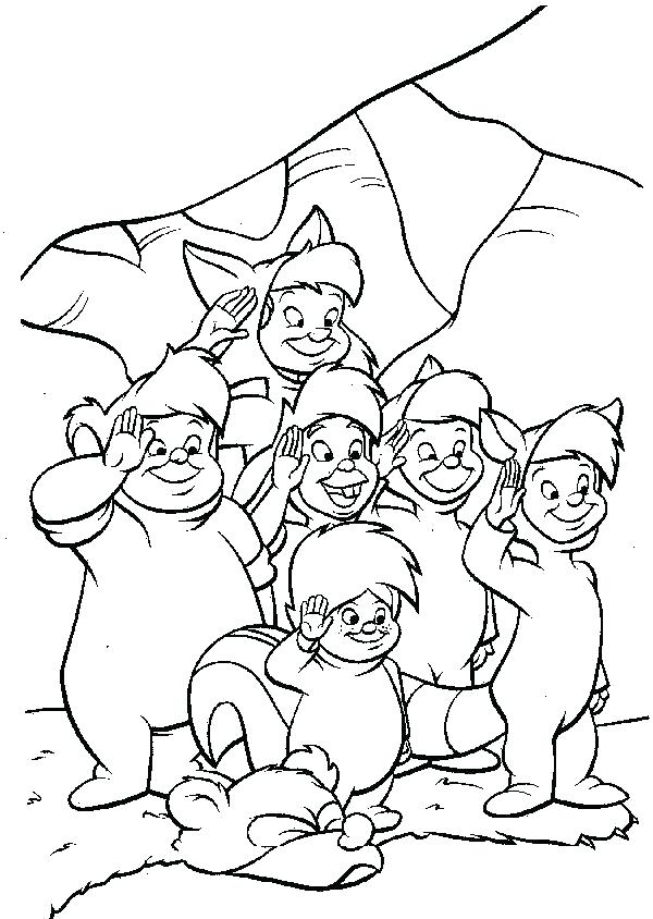 600x844 Peter Pan Coloring Pages Coloring Pages Peter Pan Mermaid Lagoon