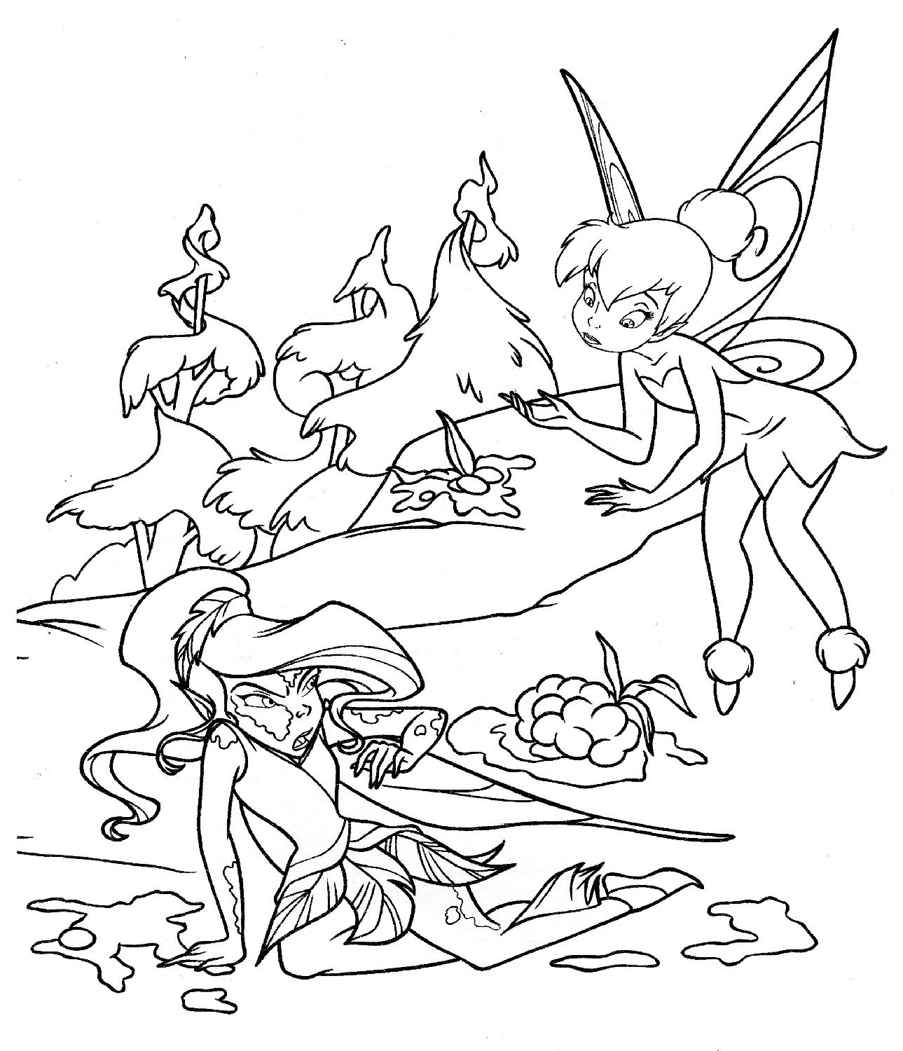 1289x1500 Peter Pan Coloring Pages Printable