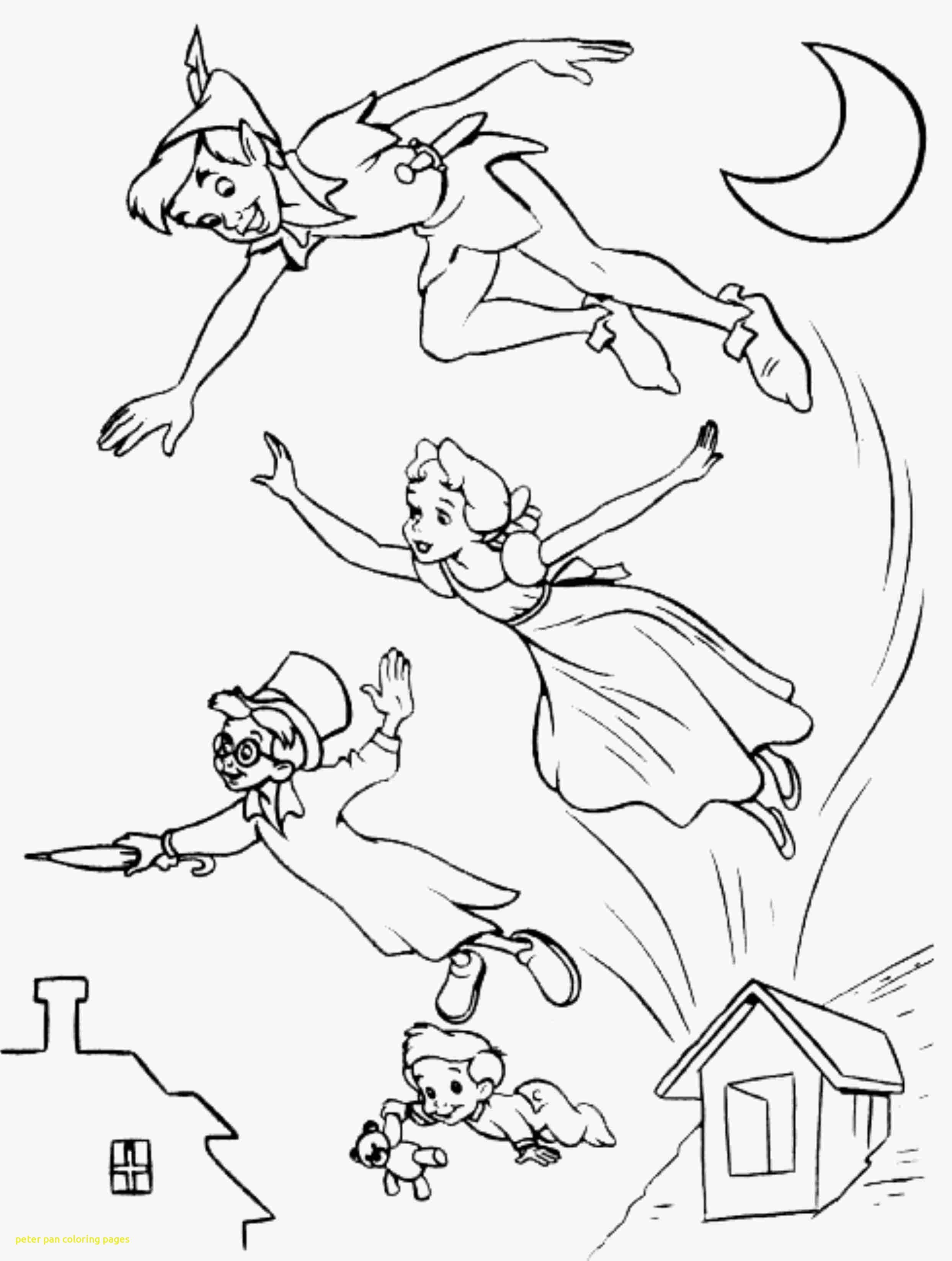 2487x3295 Print Download Fun Peter Pan Coloring Pages Downloaded For Free