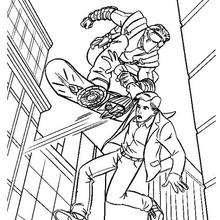 220x220 Peter Parker And Harry Osborn Coloring Pages