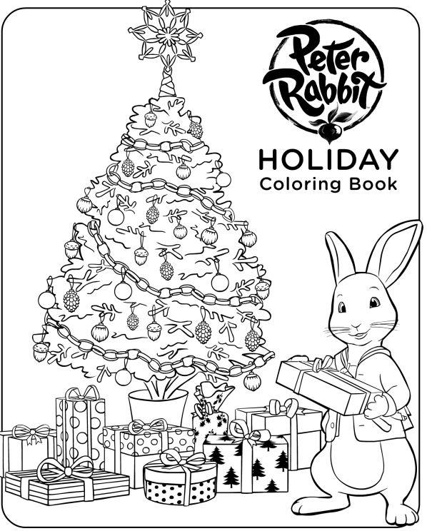 598x744 Nick Jr Peter Rabbit Coloring Page