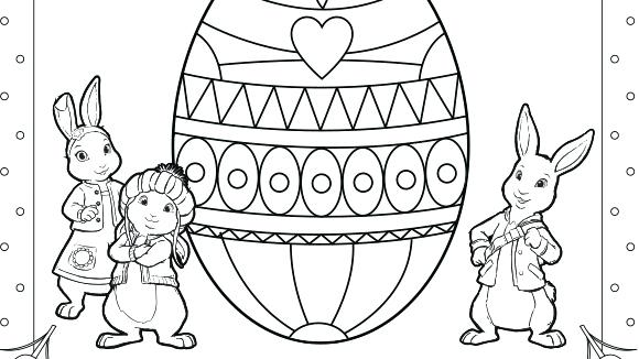 580x326 Peter Rabbit Colouring Pages To Print Kids N Coloring