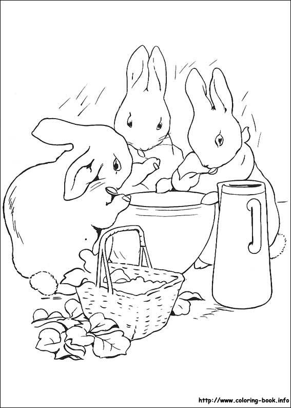 567x794 Peter Rabbit Coloring Page Peter Rabbit