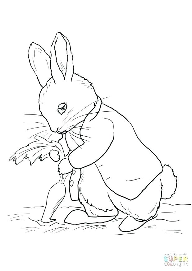 618x871 Rabbit Coloring Book And Free Printable Peter Rabbit Coloring