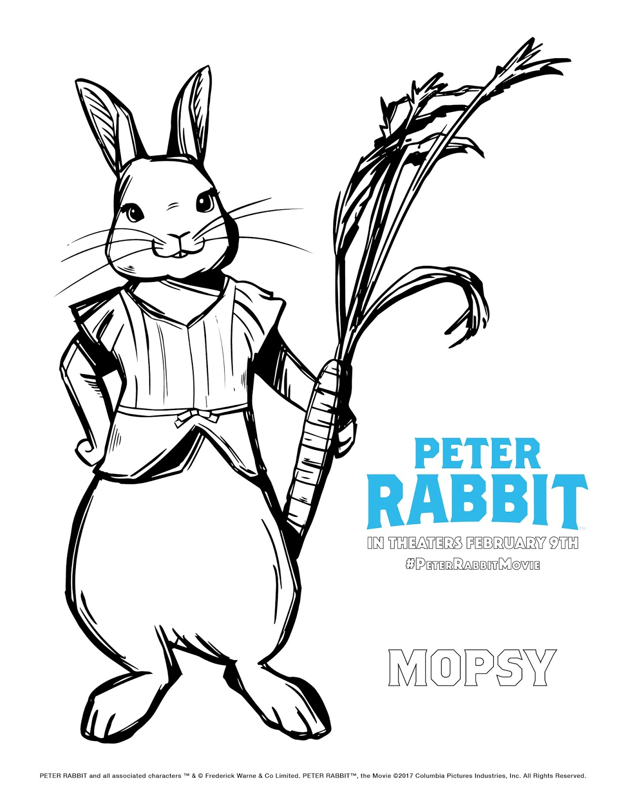 1237x1600 Fresh Peter Rabbit Movie Coloring Pages Yogi Bear Coloring Pages