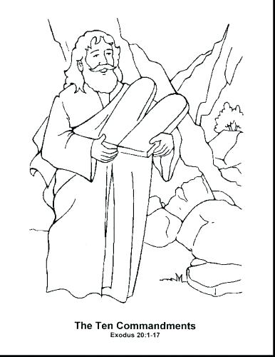 386x500 Moses Coloring Pages And Pharaoh Coloring Pages Moses Coloring